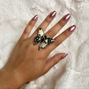 H&M Butterfly Statement Ring